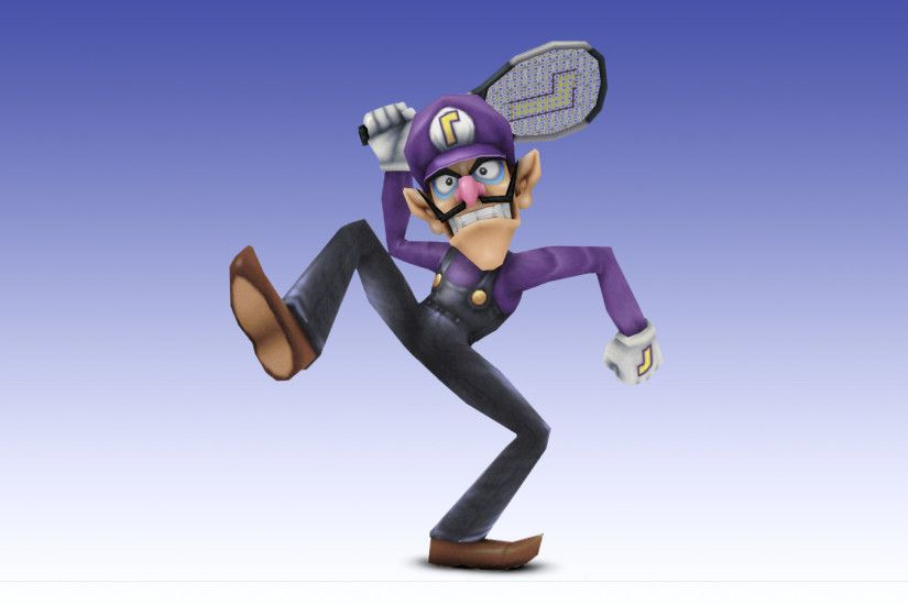 Assist Trophy Waluigi