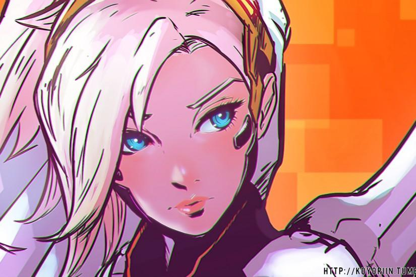 full size mercy overwatch wallpaper 1920x1080 1080p
