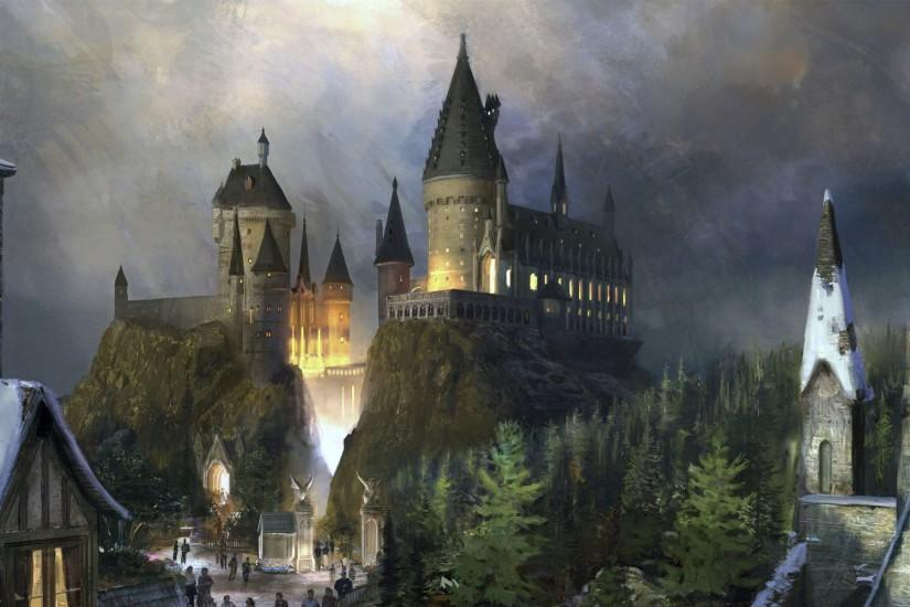 Hogwarts Castle - Harry Potter Wallpaper #8029