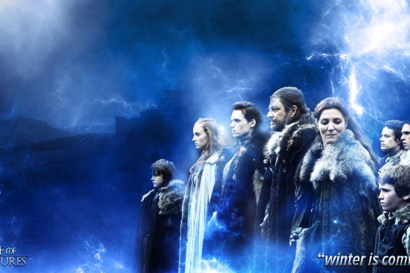 ... Game of Thrones House Stark Wallpaper (Season 1) by goodstart376