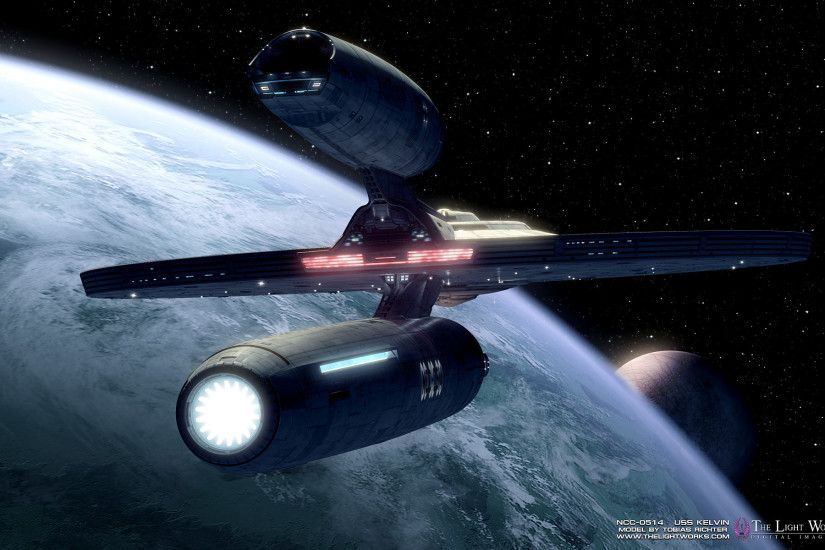 Check Out (Fan Made) High Resolution Views Of Star Trek's New USS Kelvin
