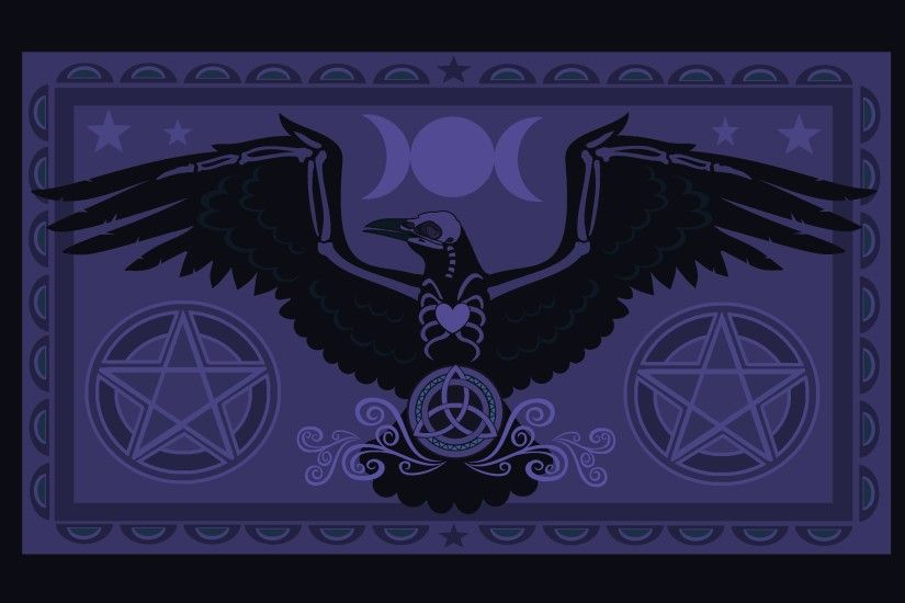 Raven Pentacle by ORUPSIA Raven Pentacle by ORUPSIA