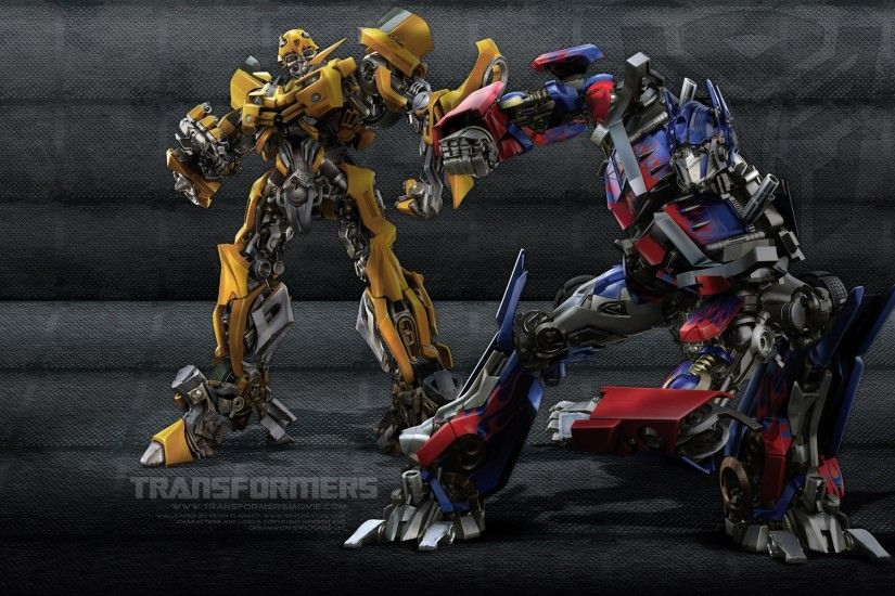 Bumblebee Optimus Wallpaper Transformers Movies Wallpapers