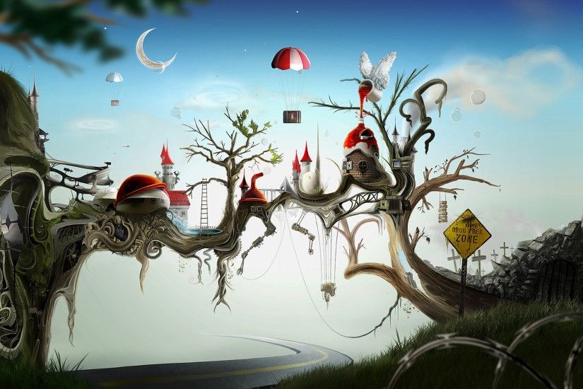 Surreal Widescreen Wallpaper 1920x1200