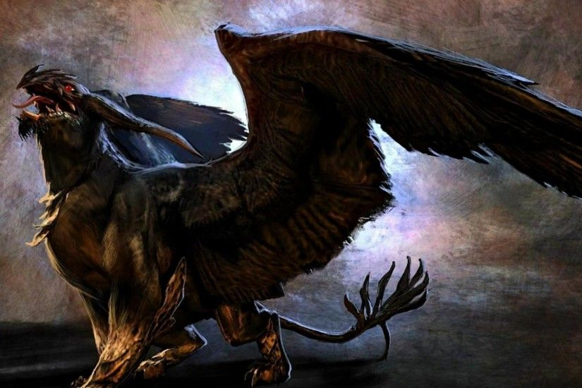 Fantasy - Griffin Creature Wallpaper