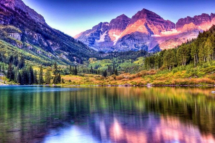 Landscaping · Maroon Bells HD Wallpapers Backgrounds Wallpaper