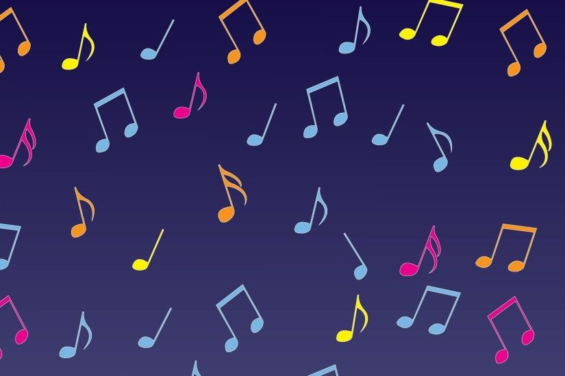 4K Musical Notes wallpapers