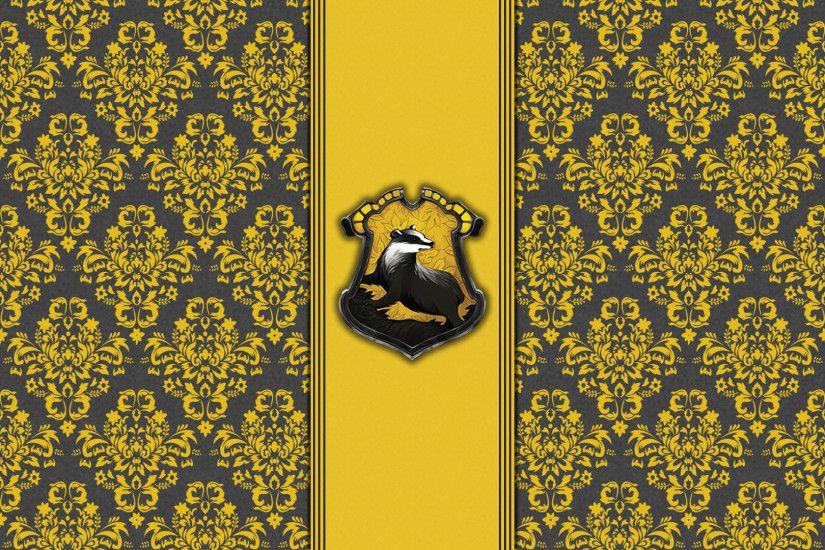 House Hufflepuff Wallpaper Hogwarts Paper Art Theladyavatar
