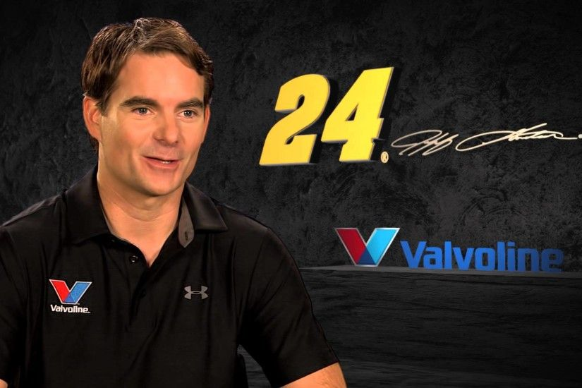 Jeff Gordon on Valvoline