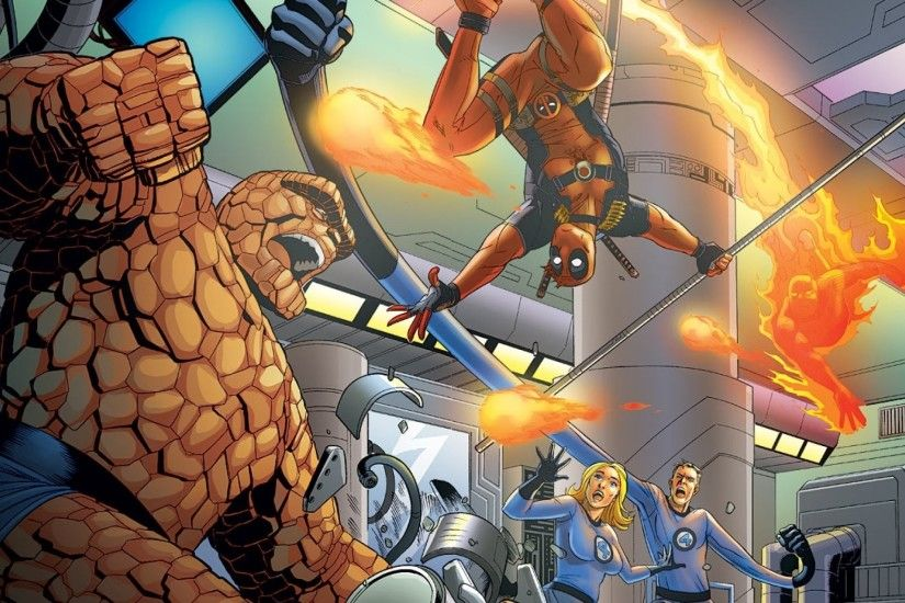 ... Comics/Fantastic Four - Wallpaper ID: 64156 Team Up Supreme! Counting  Down the Greatest Superhero Teams in .