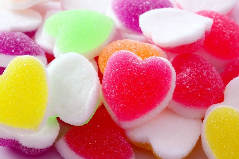 Sweet and Colorful Candy Wallpaper for Mobile and Laptop