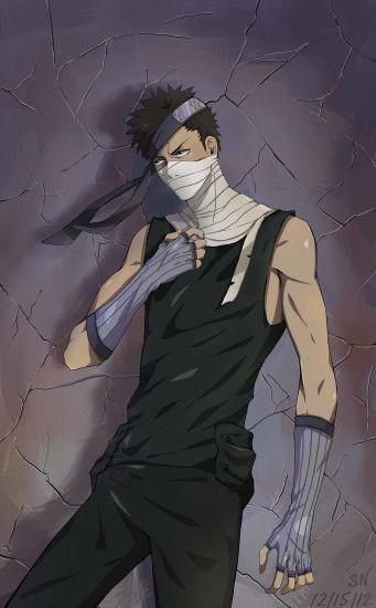 Tags: Anime, NARUTO, Momochi Zabuza, Mobile Wallpaper, Kiri no  Shinobigatana Shichinin