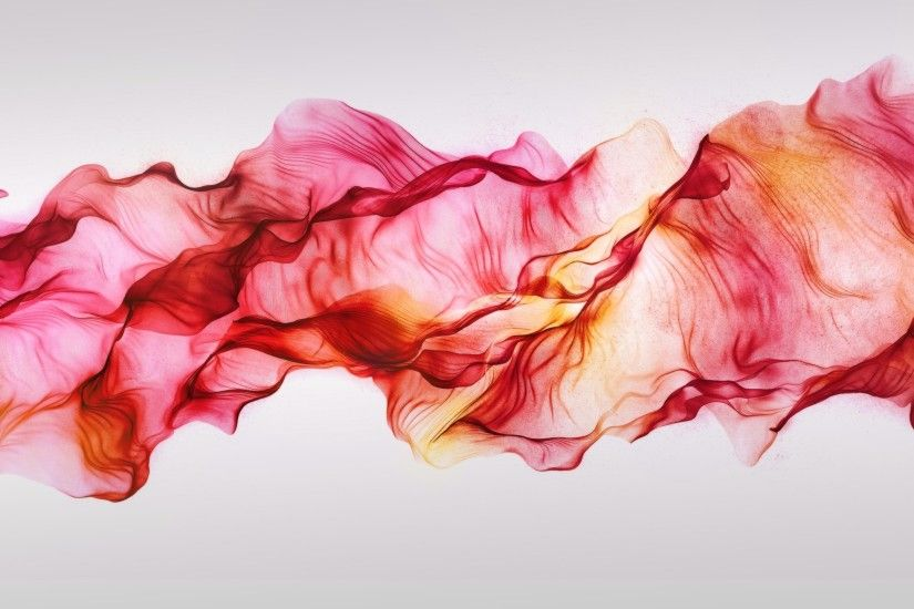 White Red Smoke wallpaper