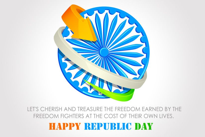 tri color and ashok chakra hd wallpaper Happy Republic Day, 2014, Vande  Matram,
