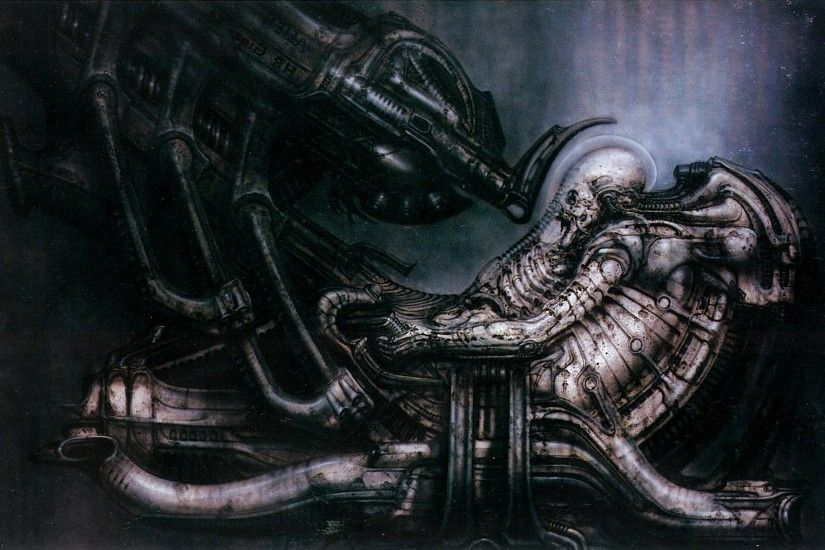 aliens, Machine, Aliens (movie), Prometheus (movie), H. R. Giger Wallpapers  HD / Desktop and Mobile Backgrounds