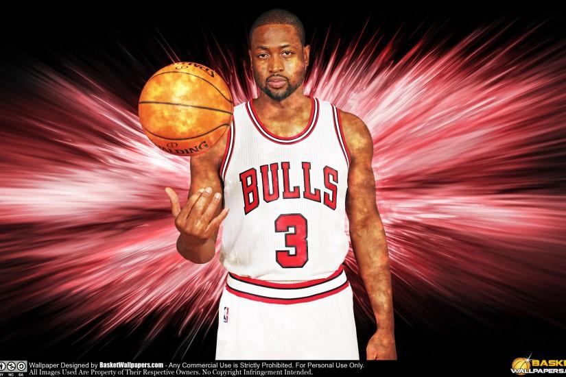 Dwyane Wade Chicago Bulls 2016 Wallpaper