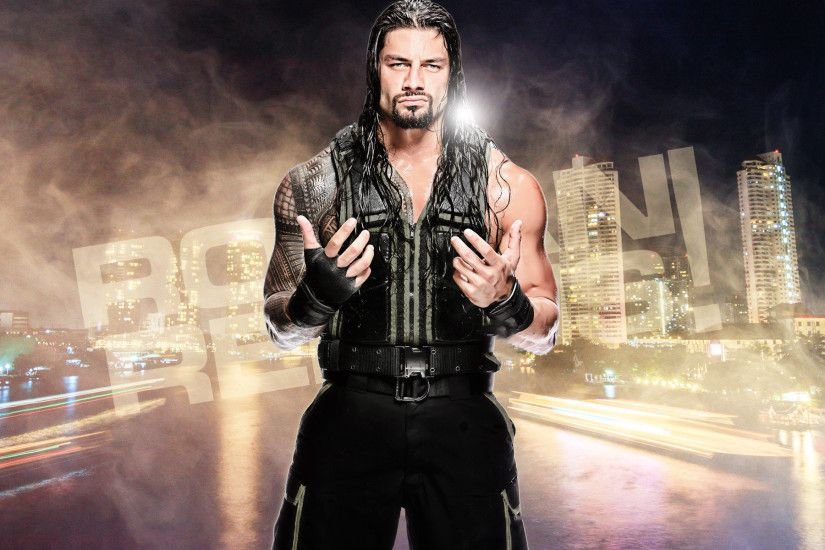 Free Download WWE Roman Reigns HD Wallpaper 2016