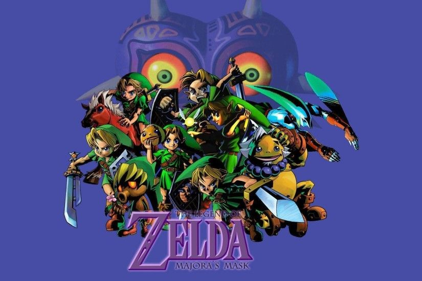 DeviantArt: More Like The Legend of Zelda Majora's Mask wallpaper .