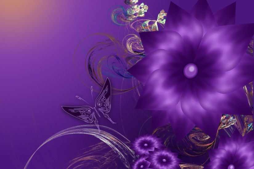 Gallery For > Pretty Purple Wallpapers For Desktop