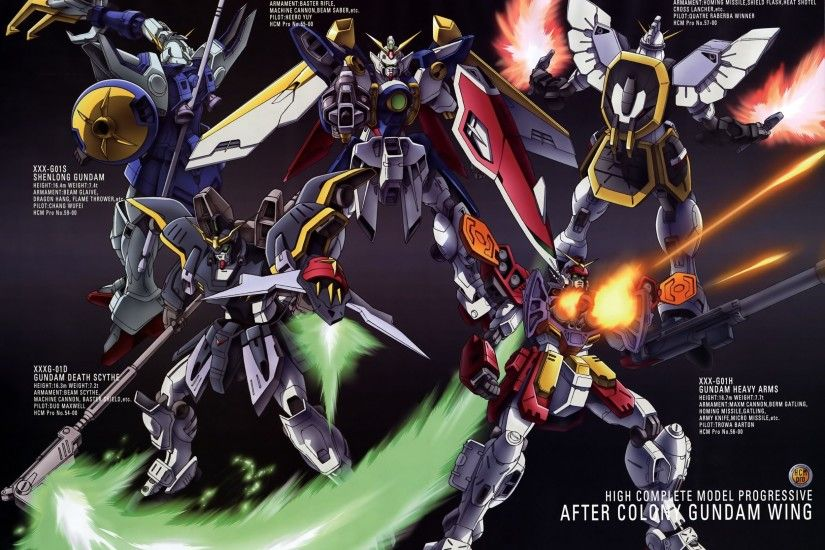 Free gundam wing robots wallpaper background