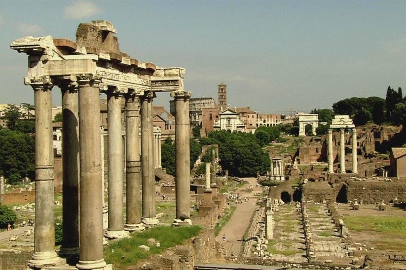Roman Forum Travel Wallpaper