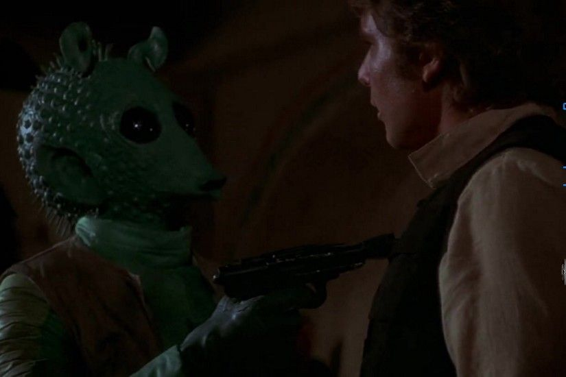 Star Wars Episode 4 Greedo And Han Solo 001