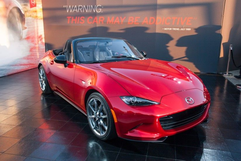 2016 Mazda MX 5 Miata Wallpapers For Iphone Source · 2016 Mazda MX 5 Miata  Revealed