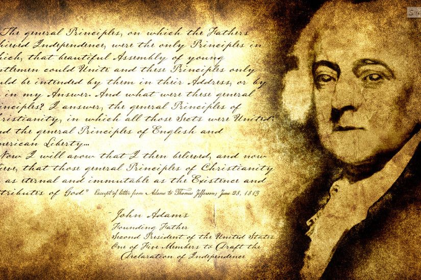 Separation Of Church And State: John Adams by SympleArts