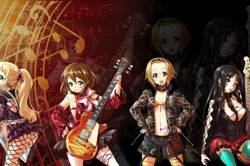 ... K-On! Wallpaper by Bogan666