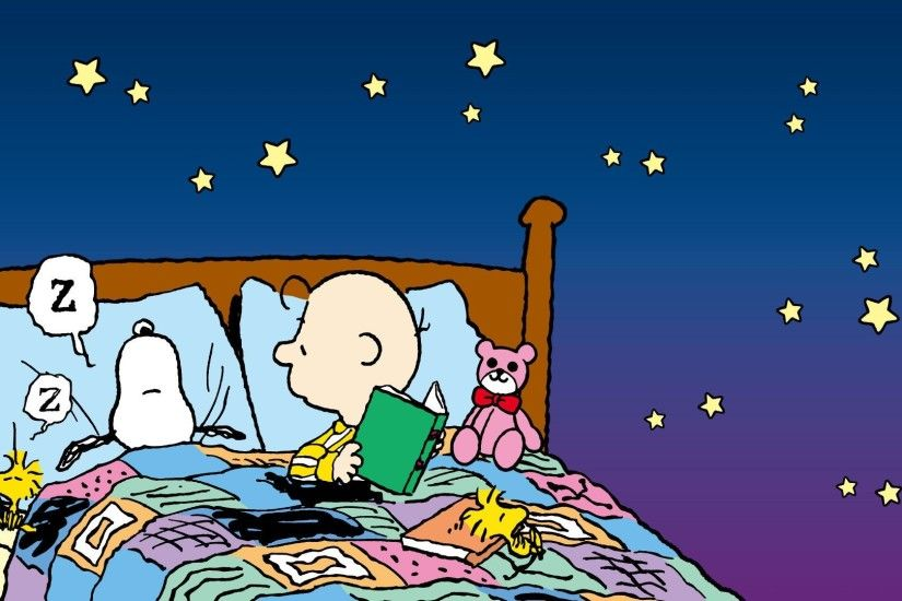 Snoopy Sleeping Wallpaper