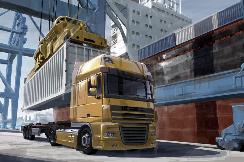Euro Truck Simulator 2 Wallpaper ·① WallpaperTag