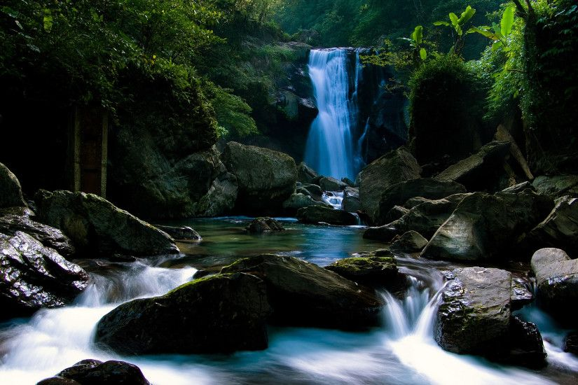Daily Wallpaper: Beautiful Secluded Waterfall | I Like To Waste My Time