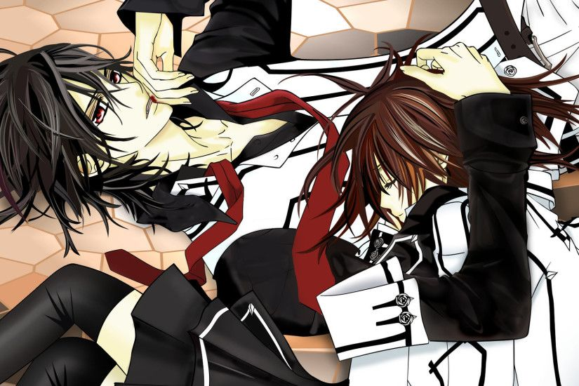 yaoi vampire knight anime boys two boys kuran kaname shounenai wallpaper –  Anime Vampire Knight HD Desktop Wallpaper