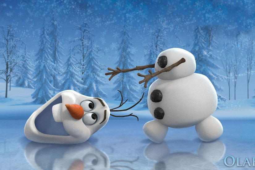 Funny Olaf in Frozen Movie Exclusive HD Wallpapers