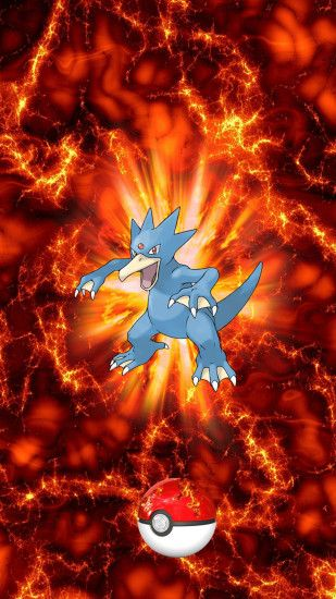 055 Fire Pokeball Golduck Golduck Psyduck