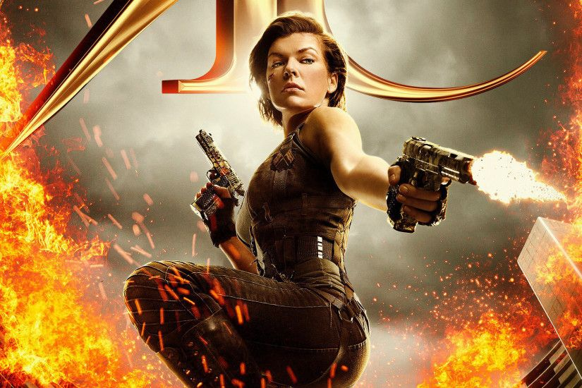 Movies / Resident Evil: The Final Chapter Wallpaper. Resident Evil: The  Final Chapter, Milla Jovovich, Alice, Resident Evil