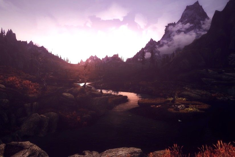 ... Beauty of Skyrim - IX by MuuseDesign