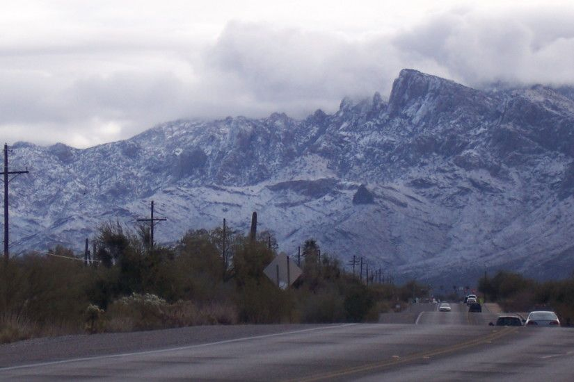 Arizona images Snow on the Catalinas Feb 2011 HD wallpaper and background  photos