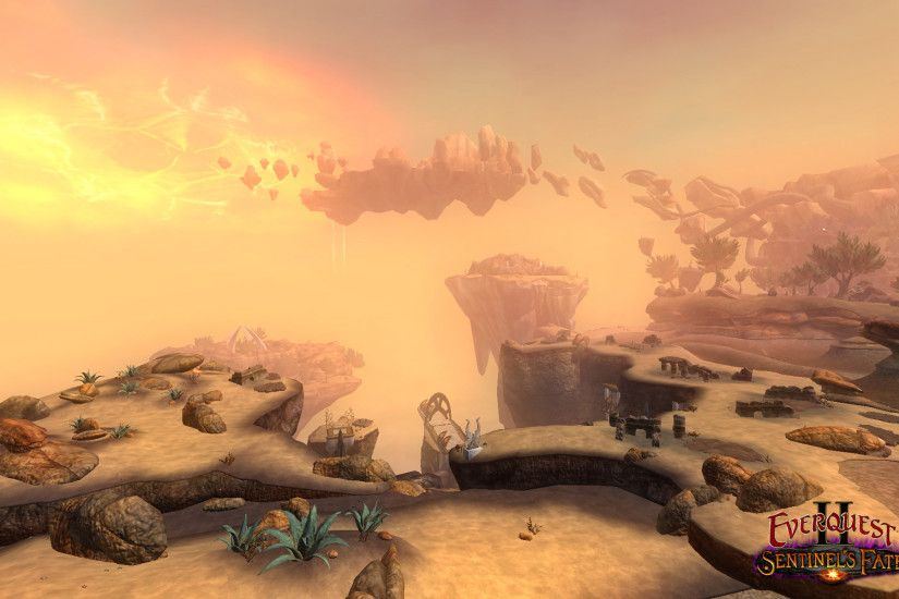 First Screens of The Sundered Frontier