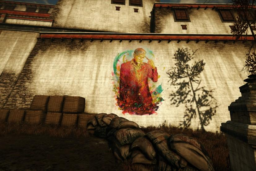 Video Game - Far Cry 4 Dictator Pagan Min Wallpaper