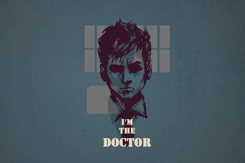 3840x2160 Wallpaper doctor who, tardis, tennant