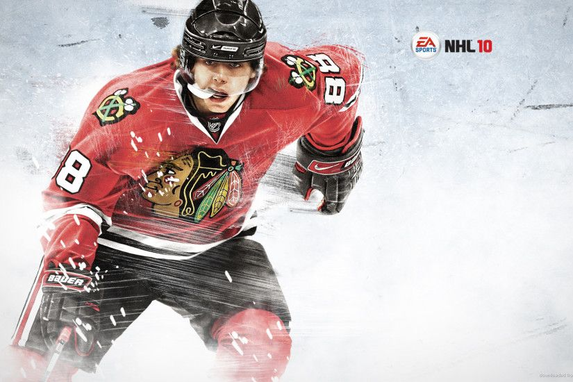 Patrick Kane NHL10 cover picture