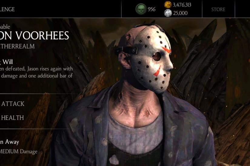 Mortal Kombat X Android - Jason Voorhees Challenge Gameplay (HD)