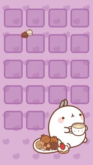 kawaii wallpaper 1280x2272 iphone