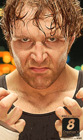 Dean Ambrose iphone Wallpaper by Arunraj1791 Dean Ambrose iphone Wallpaper  by Arunraj1791