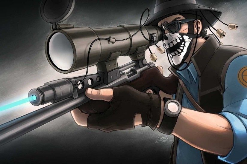 ... Guns weapons Team Fortress 2 Sniper TF2 wallpaper 1920x1080 244234