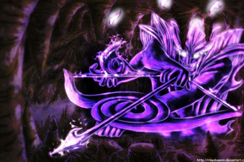 Shippuden Susanoo Wallpaper Sharingan Naruto Wiki FANDOM powered by Wikia  Sasuke's Susanoo wallpaper Eternal Mangekyou ...
