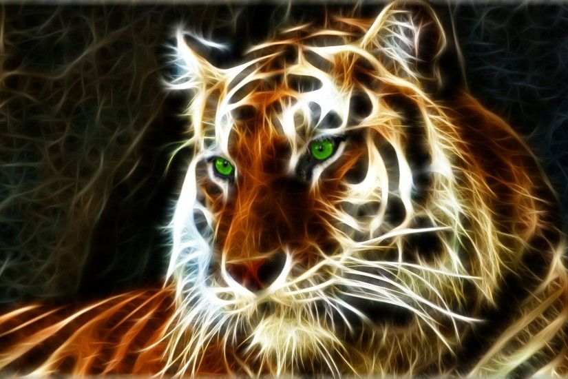 tiger wallpaper 3d animation