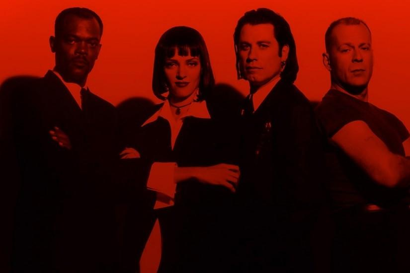 PULP FICTION Crime Thriller poster wallpaper | 1920x1080 | 179458 |  WallpaperUP