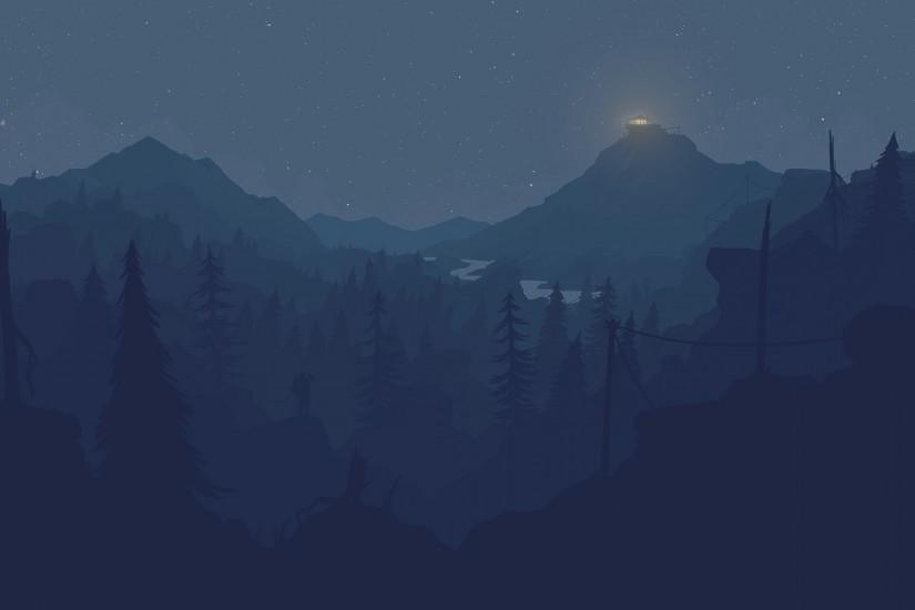 popular firewatch wallpaper 2560x1600 photos